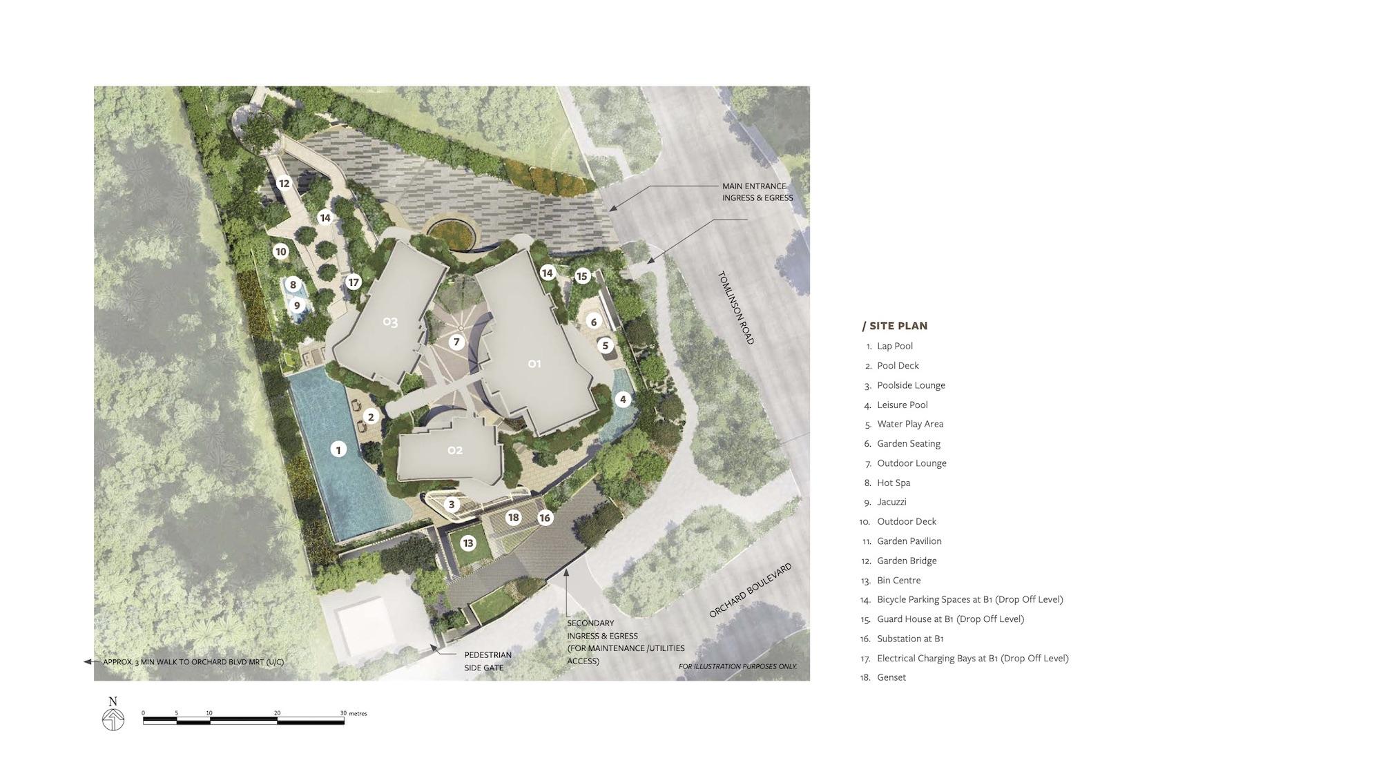Park Nova Site Plan 1 Singapore
