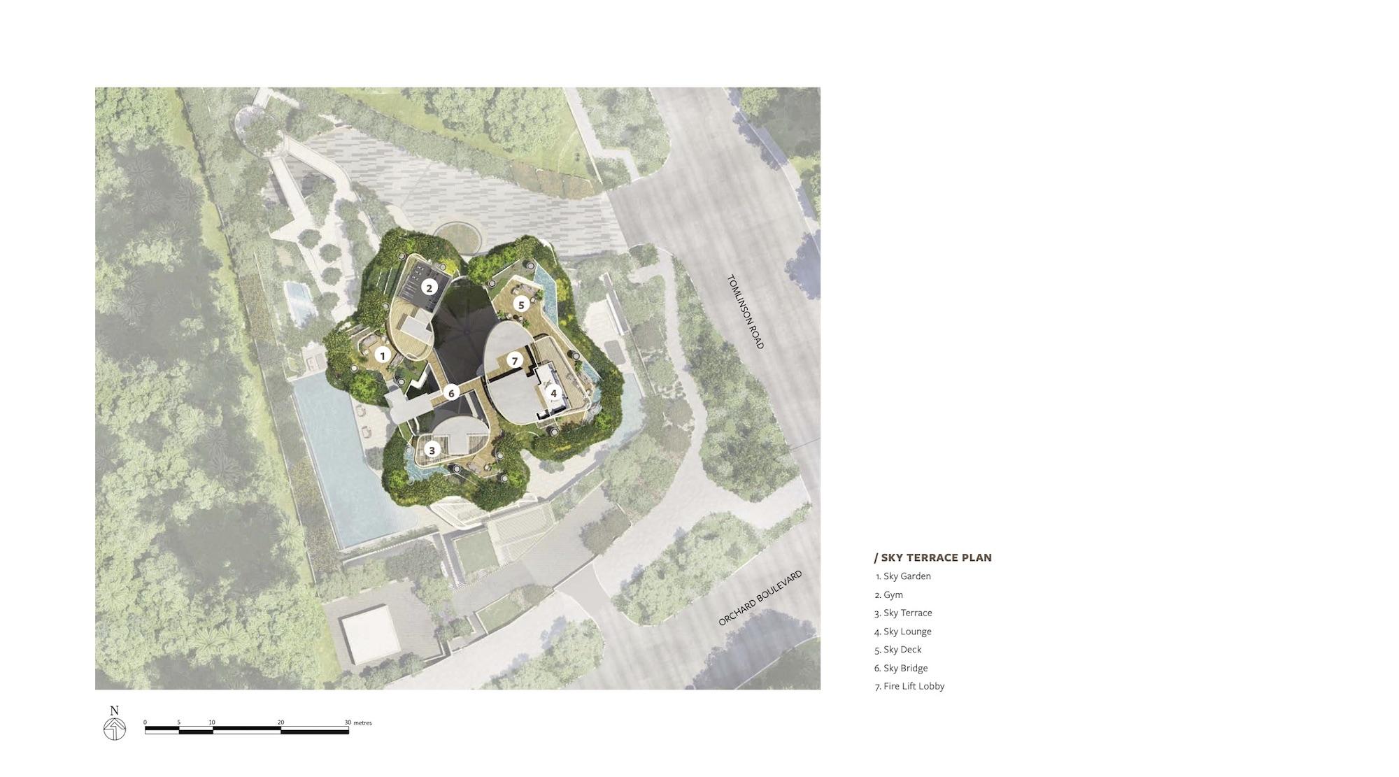 Park Nova Site Plan 2 Singapore